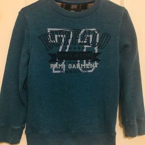Buffalo David Britton Boys Sweat Shirt Size S